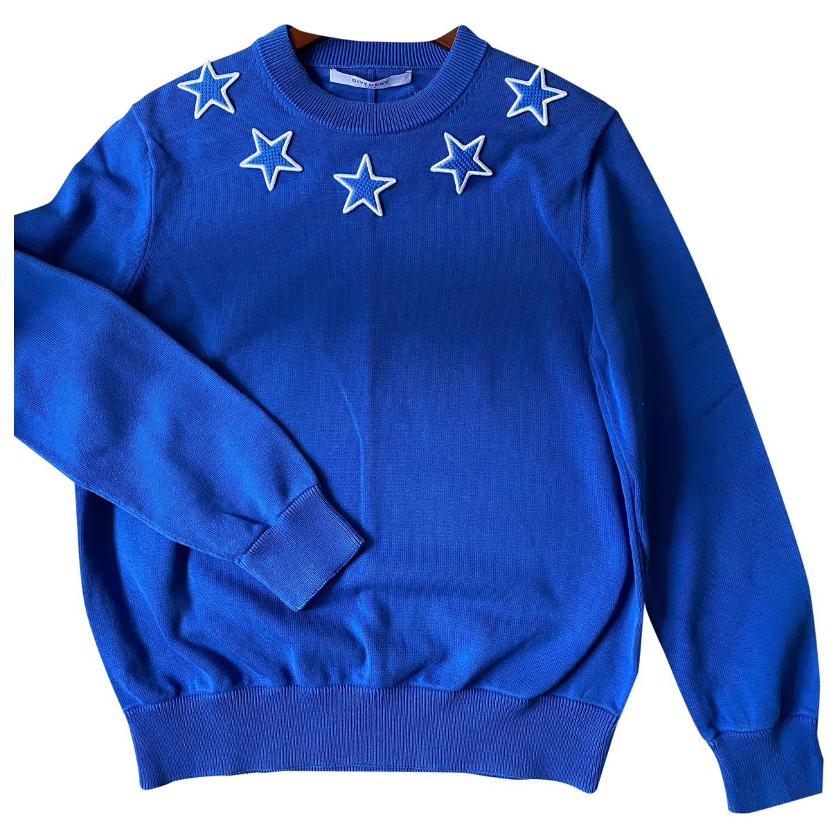 Givenchy \N Pullover.Westen.Sweatshirts  in  Blau Baumwolle