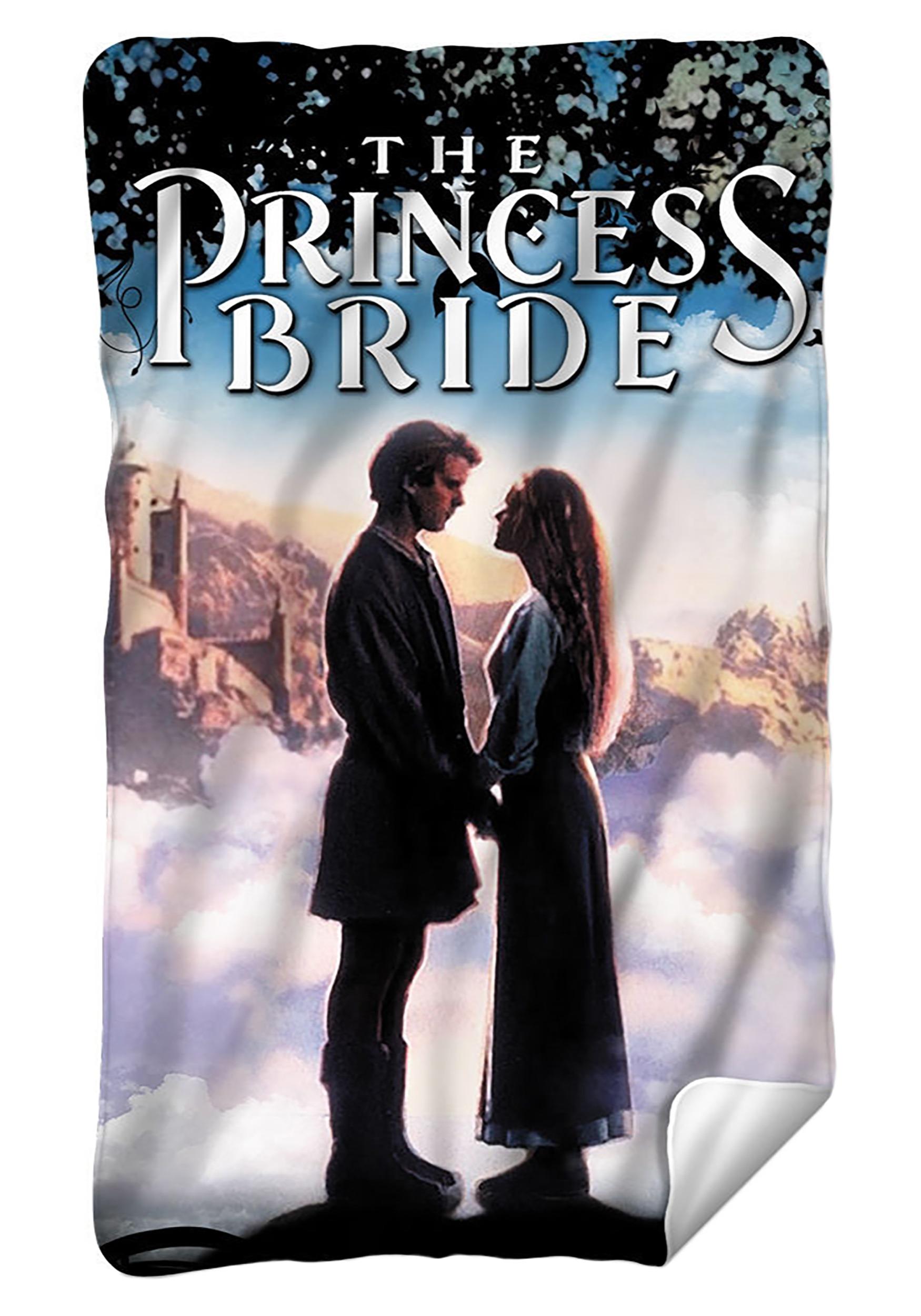 Lightweight Princess Bride Fleece Blanket