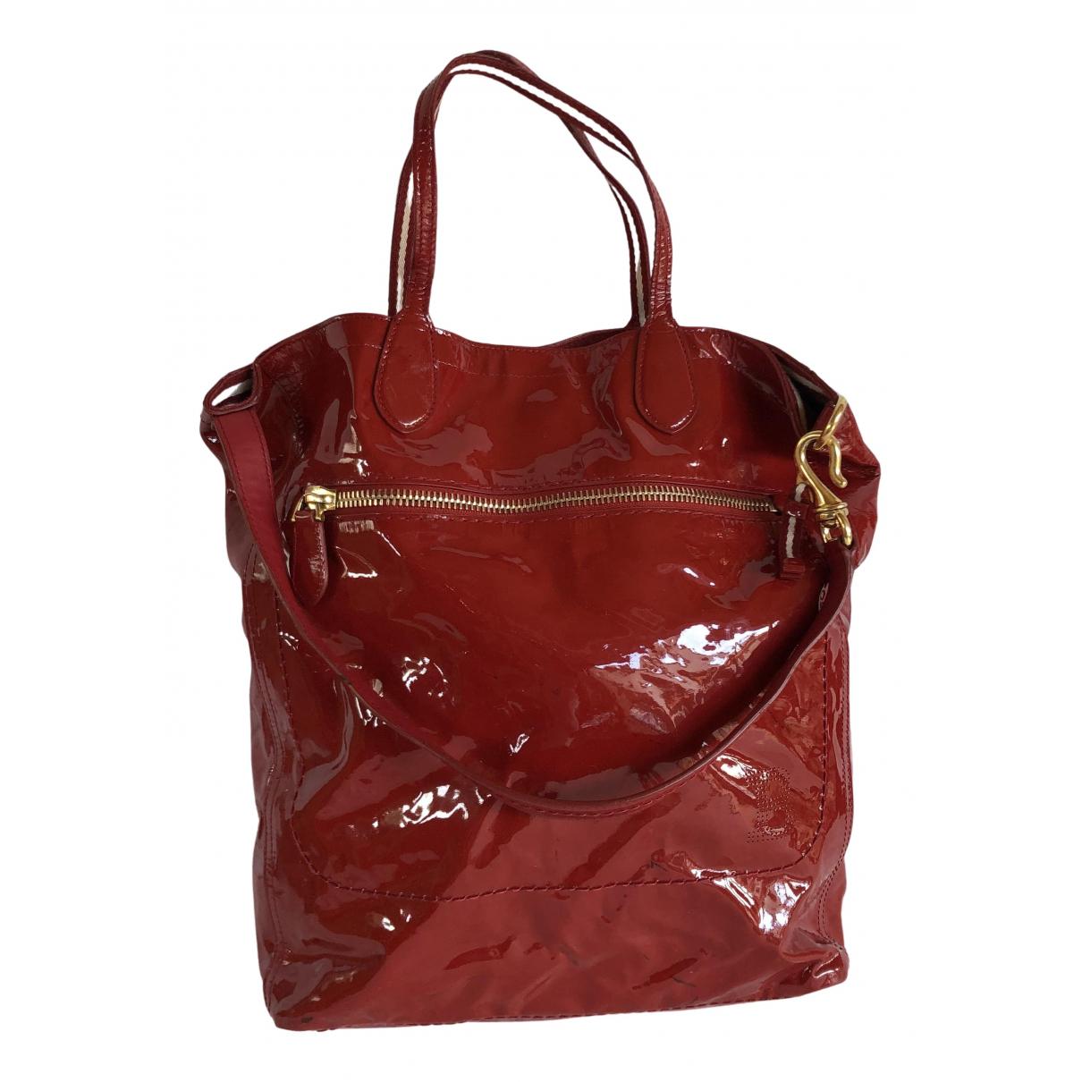 Bally \N Red Patent leather handbag for Women \N