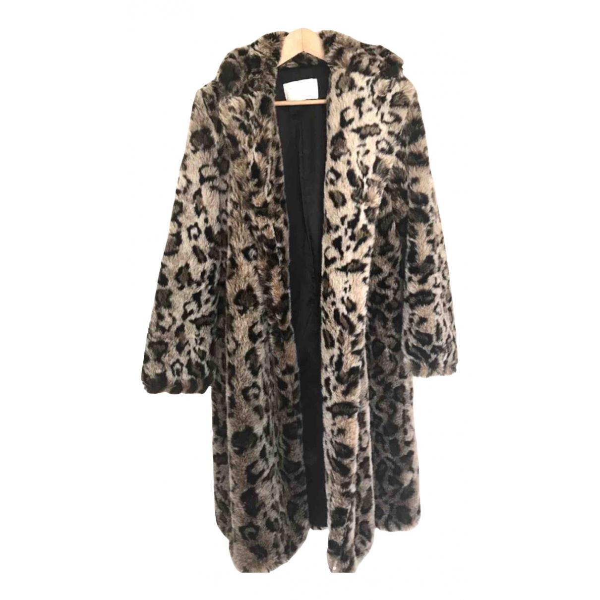 Zara N Faux fur coat for Women 38 FR