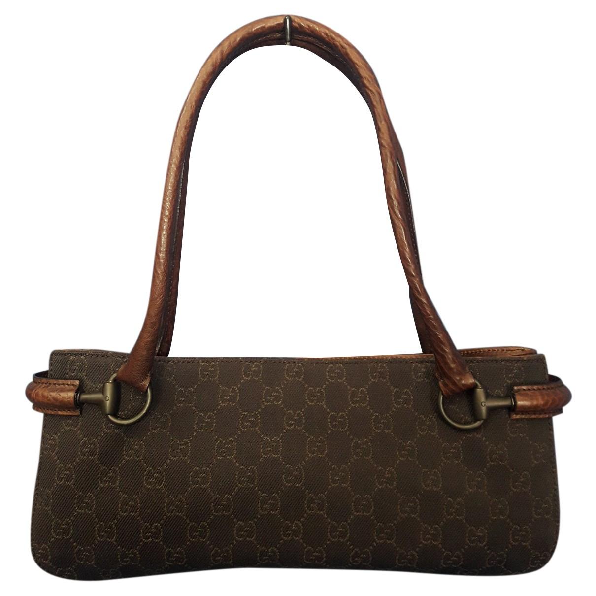 Gucci N Brown Cloth handbag for Women N
