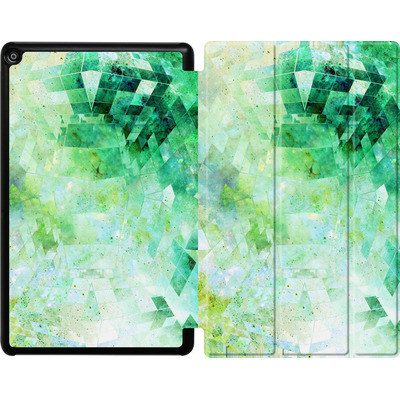 Amazon Fire HD 10 (2017) Tablet Smart Case - Occult Galaxy Structure von Barruf