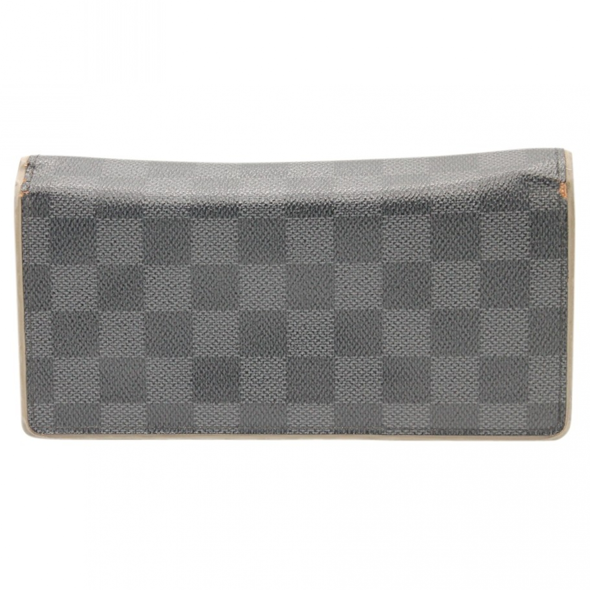 Louis Vuitton Brazza Anthracite Cloth Small bag, wallet & cases for Men \N