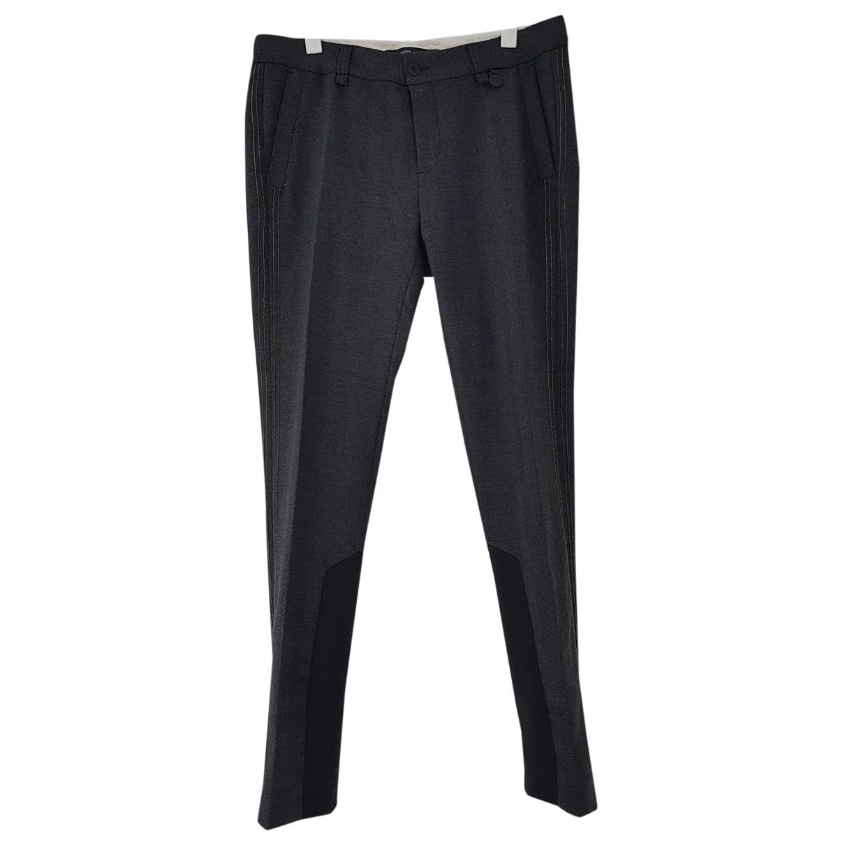 - Pantalon   pour femme - anthracite