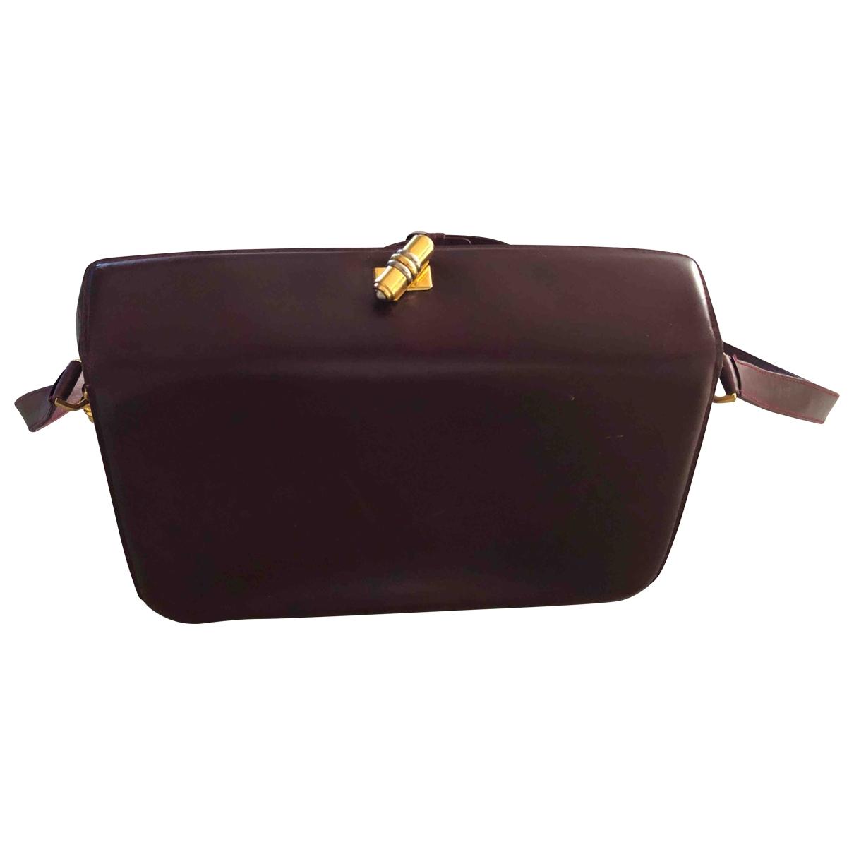 Gucci \N Handtasche in Leder