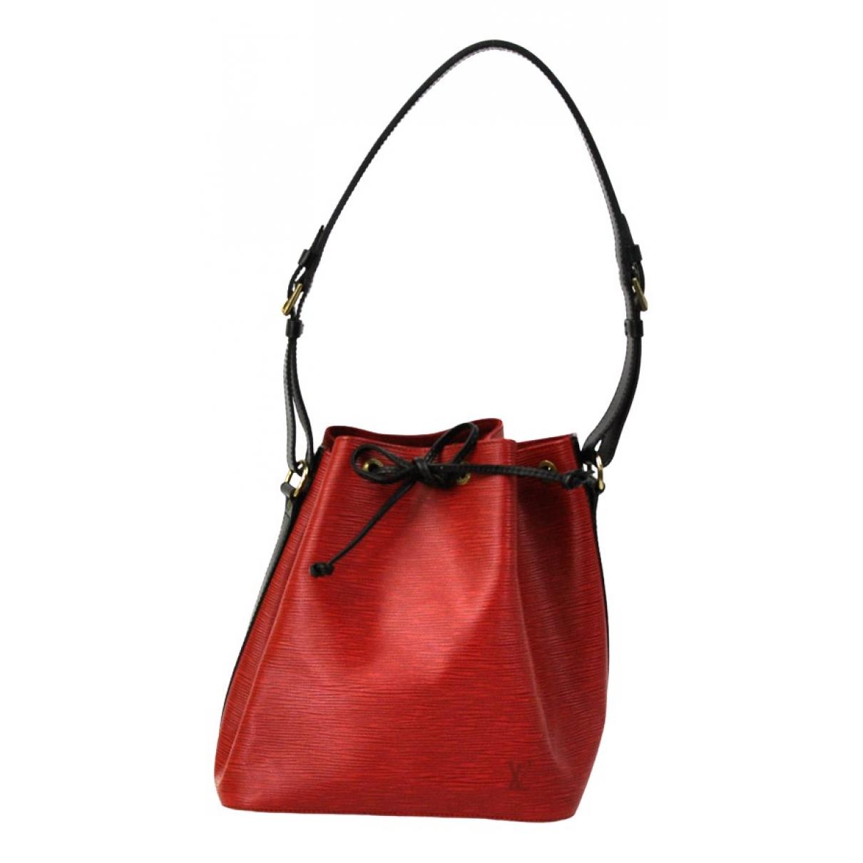 Louis Vuitton Noe Handtasche in  Rot Leder