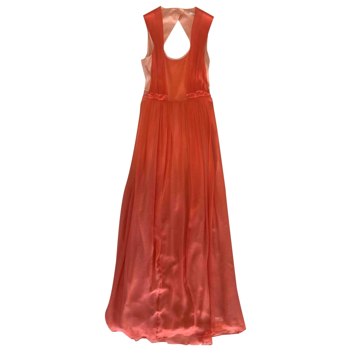 Carven \N Pink Silk dress for Women 36 FR