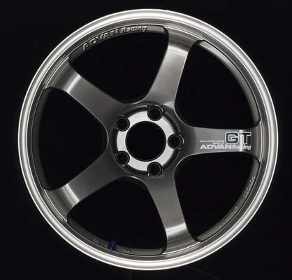 Advan GT Premium Wheel 21x9.5 Center Lock 46mm Racing Hyper Black