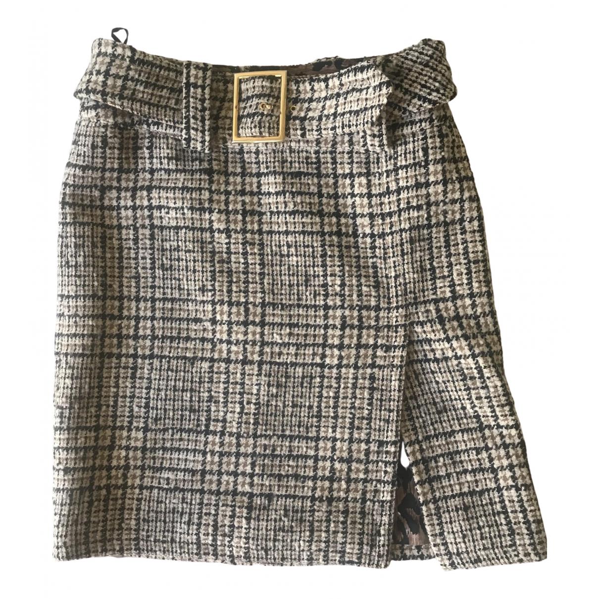 Dolce & Gabbana \N Rocke in  Beige Wolle