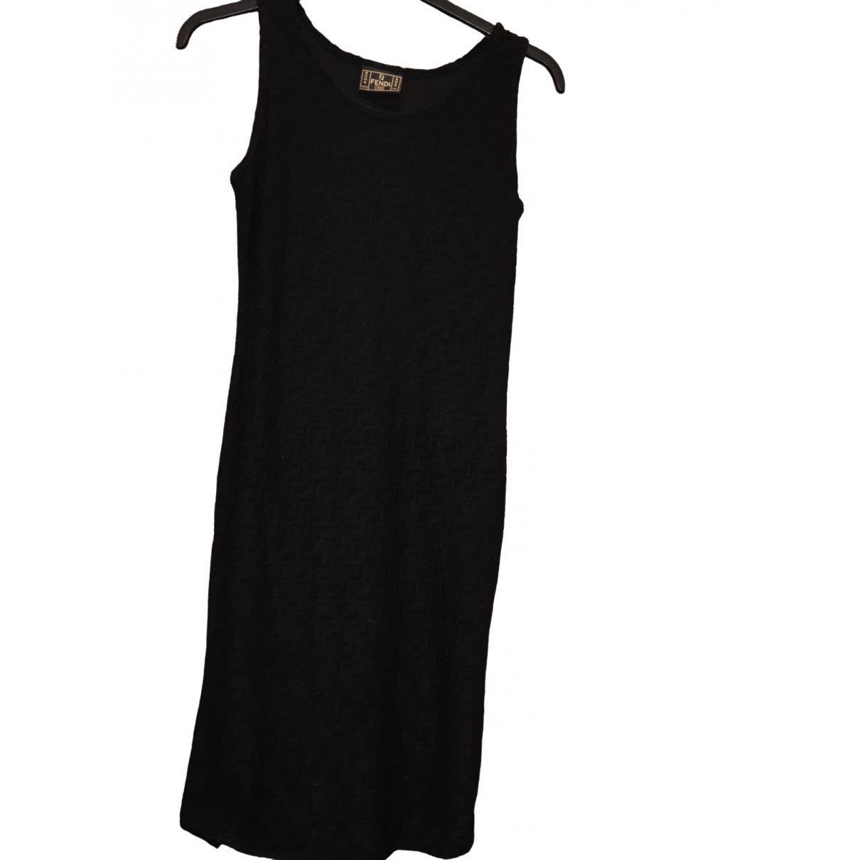 Fendi \N Black dress for Women 44 IT
