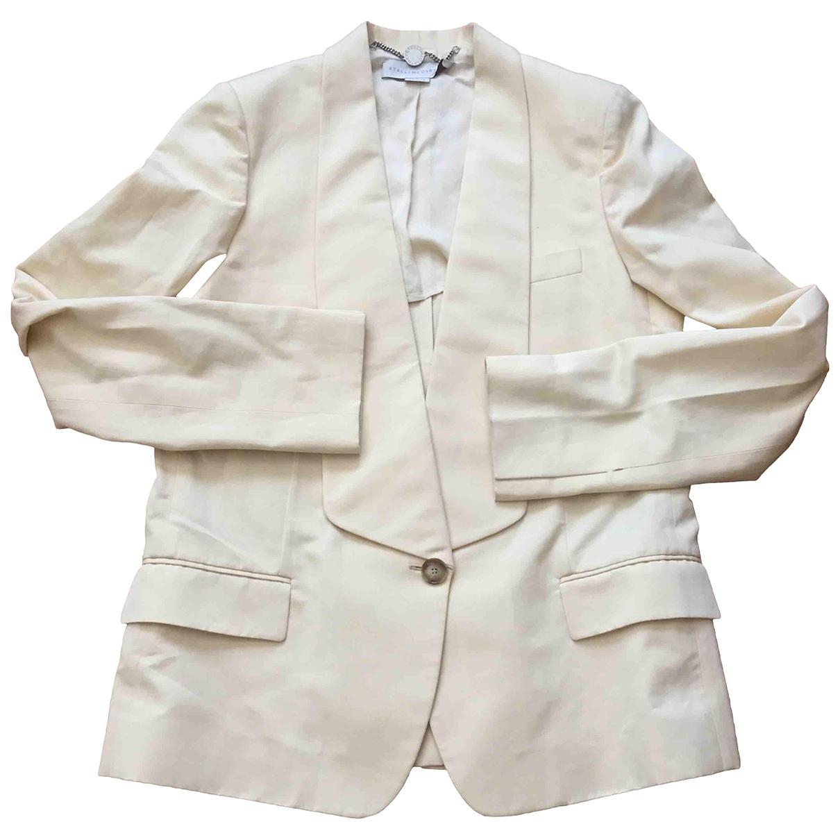 Stella Mccartney - Veste   pour femme en coton - beige