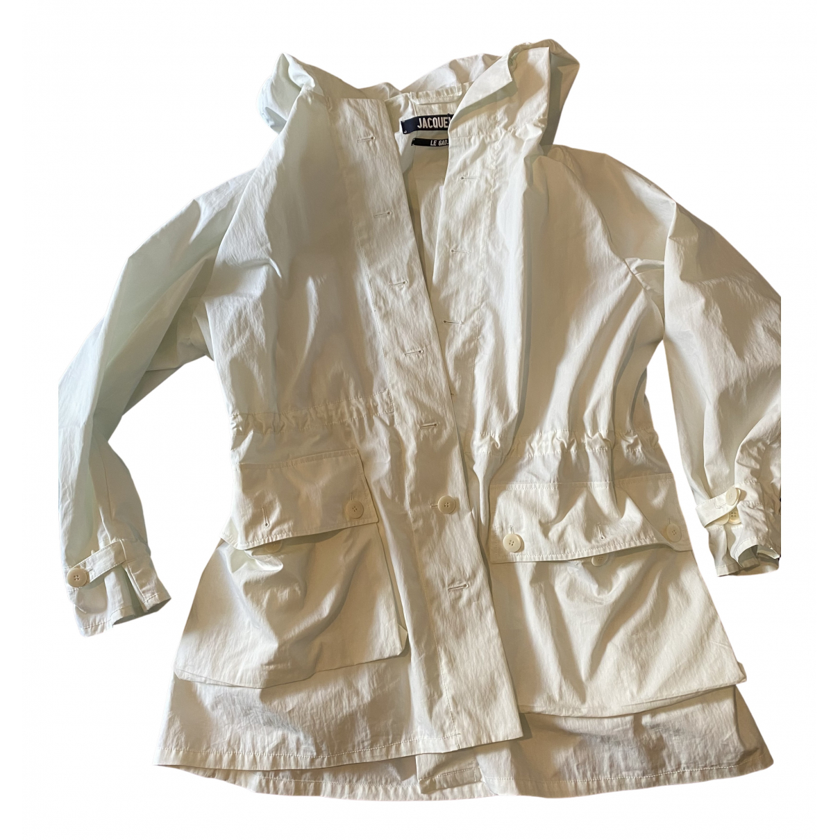 Jacquemus - Manteau Le Gadjo pour homme en coton - blanc