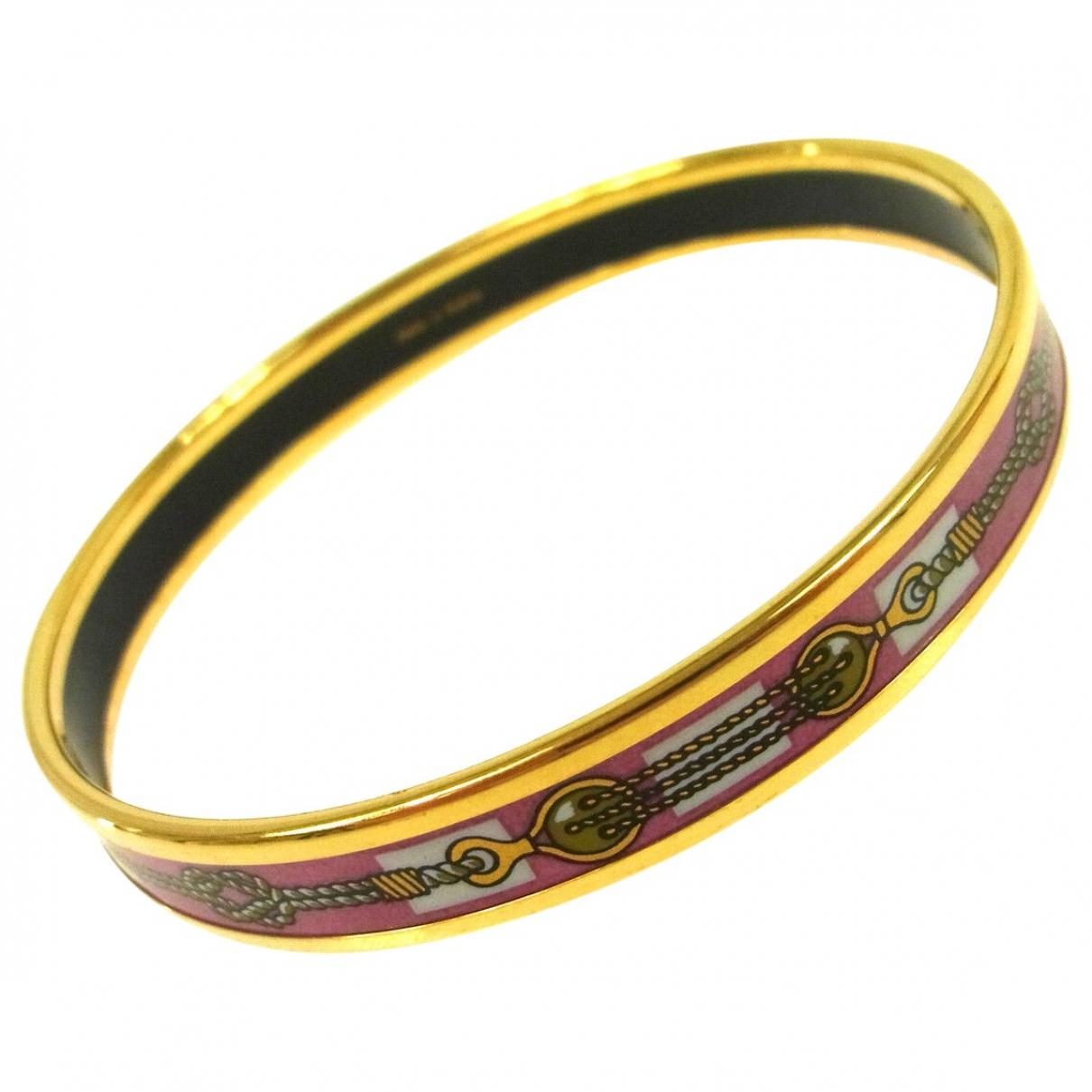 Hermes Bracelet Email Armband in Metall