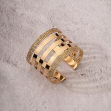 Maenner Metallisches offenes Armband