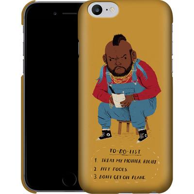 Apple iPhone 6s Plus Smartphone Huelle - Mr T To Do List von Louis Ros