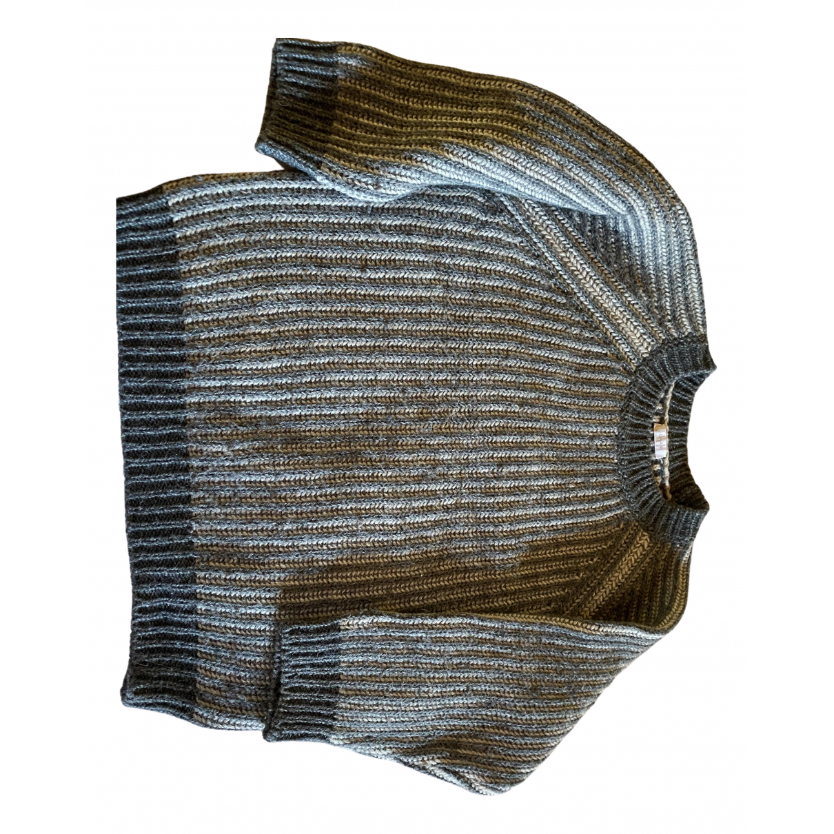 Il Gufo - Pull   pour enfant en laine - gris