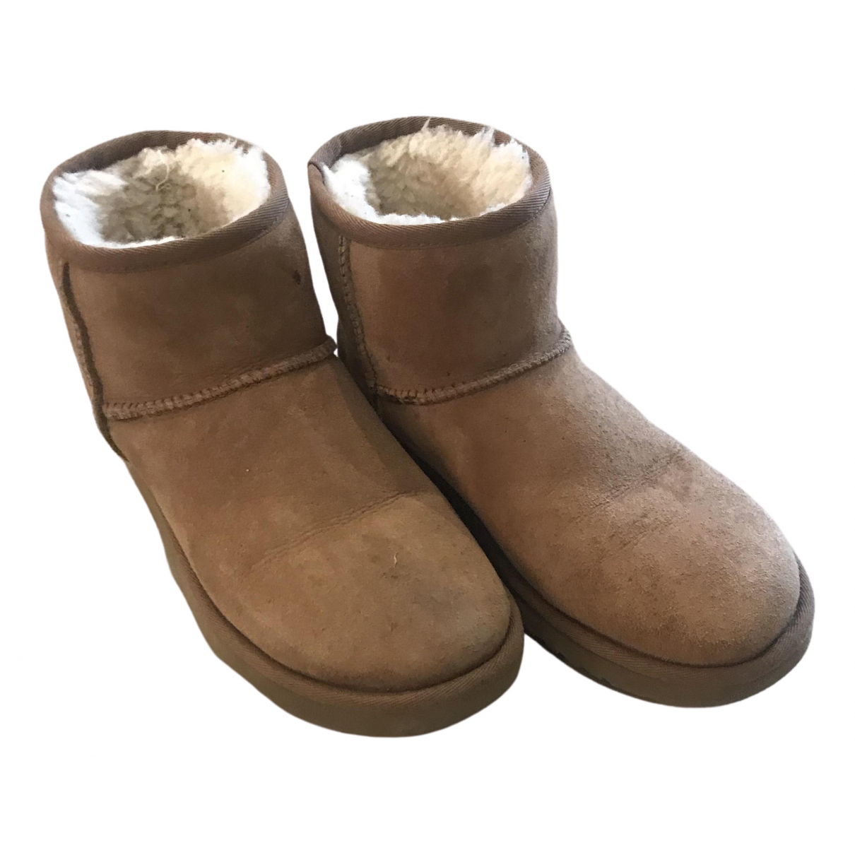 Ugg \N Brown Suede Boots for Women 39 EU