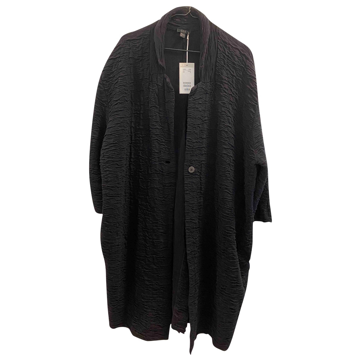 Cos \N Black Cotton coat for Women M International