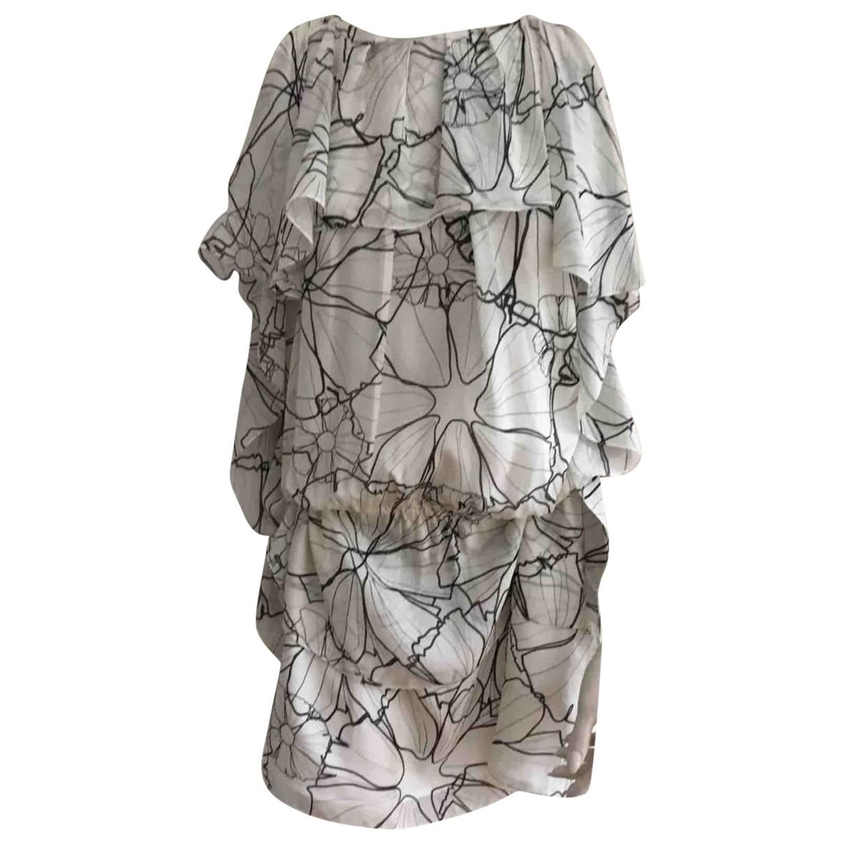 Thakoon - Robe   pour femme en soie - blanc
