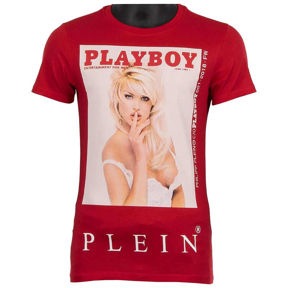 Philipp Plein \N T-Shirts in  Rot Baumwolle