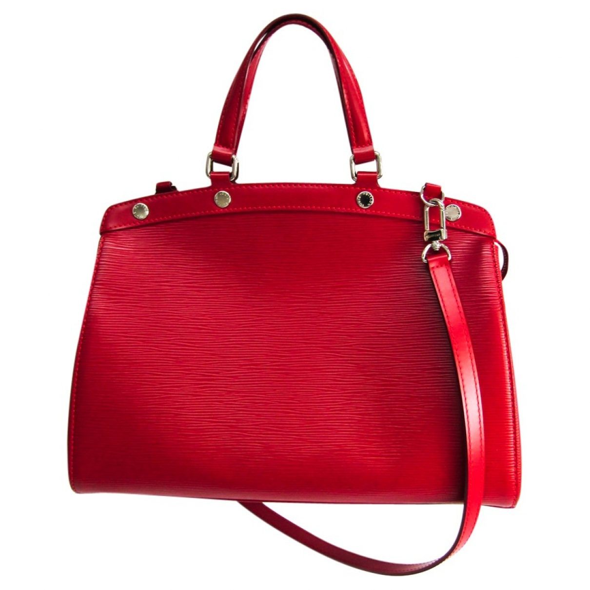 Louis Vuitton Bréa Red Leather handbag for Women \N
