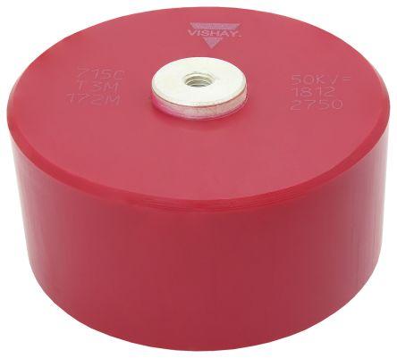 Vishay Single Layer Ceramic Capacitor (SLCC) 1.7nF 34 kVrms, 50 kV dc ±20% N4700 Dielectric 715C50KT Series Screw Mount (20)