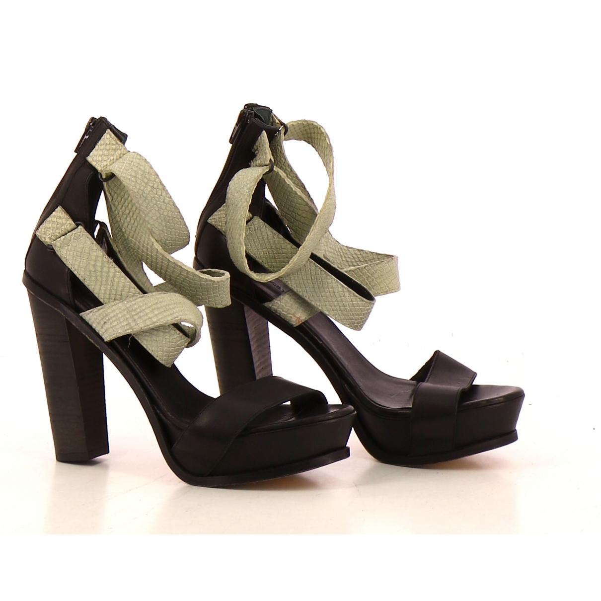 Surface To Air - Sandales   pour femme en cuir - beige