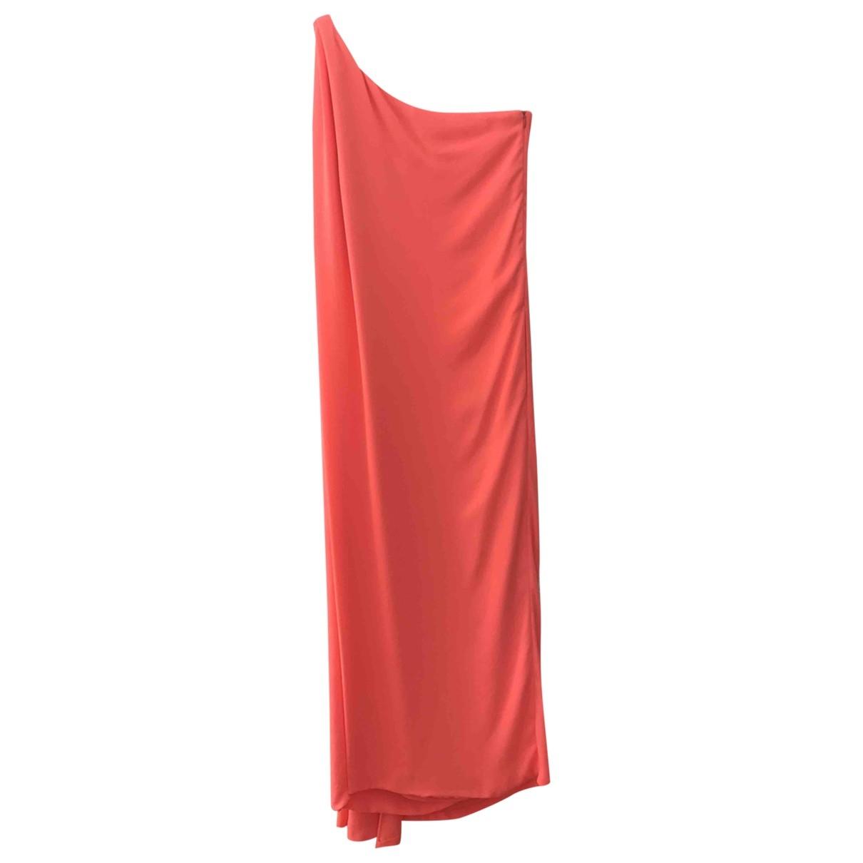 Diane Von Furstenberg \N Kleid in  Orange Polyester