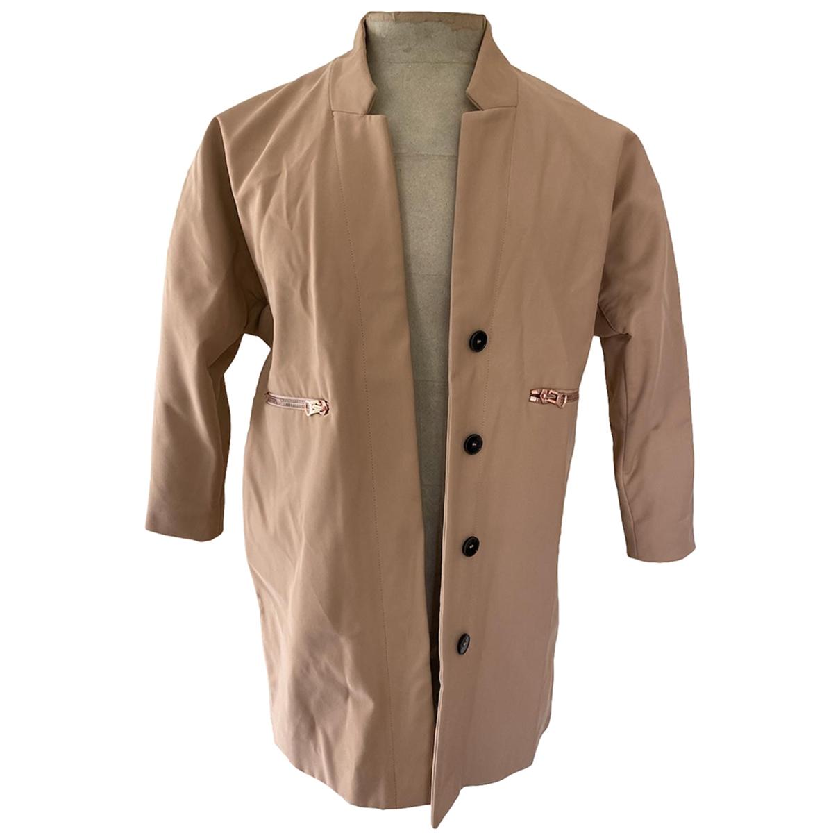Sandro - Manteau   pour femme - beige