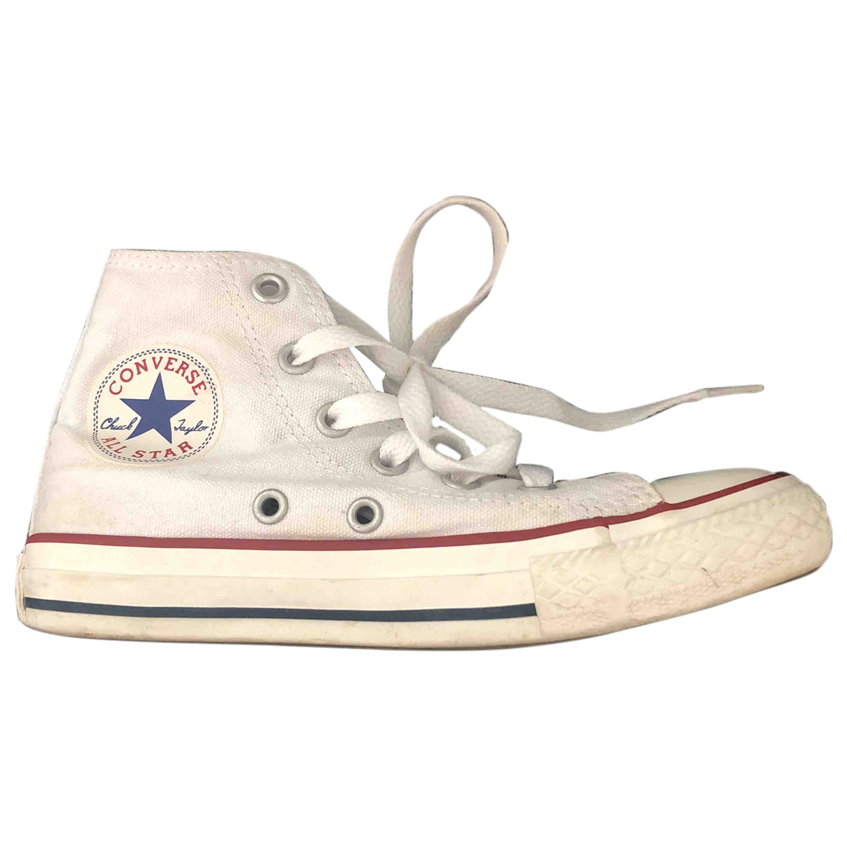Converse \N White Cloth Trainers for Kids 29 EU