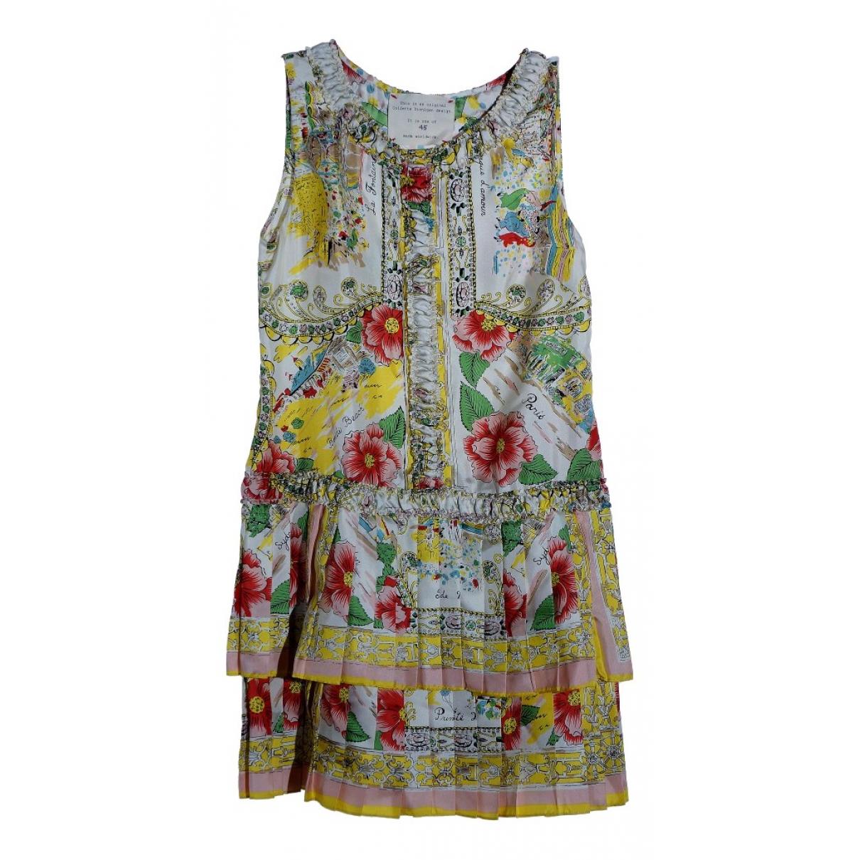 Collette Dinnigan - Robe   pour femme en soie - multicolore