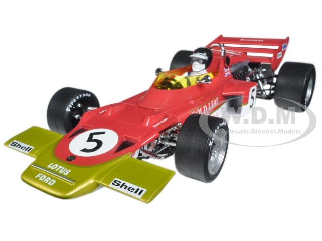 Lotus 72C 1970 British GP Winner Jochen Rindt 5 Limited Edition 3000pc 1/18 Diecast Model Car by Quartzo