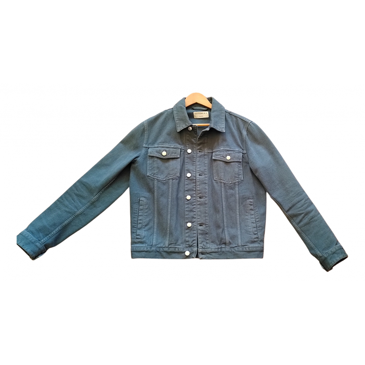 Editions M.r \N Green Cotton jacket  for Men 48 FR
