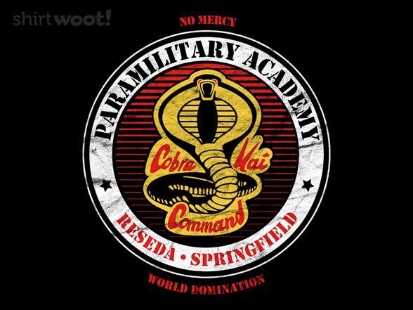 Cobra Dojo T Shirt