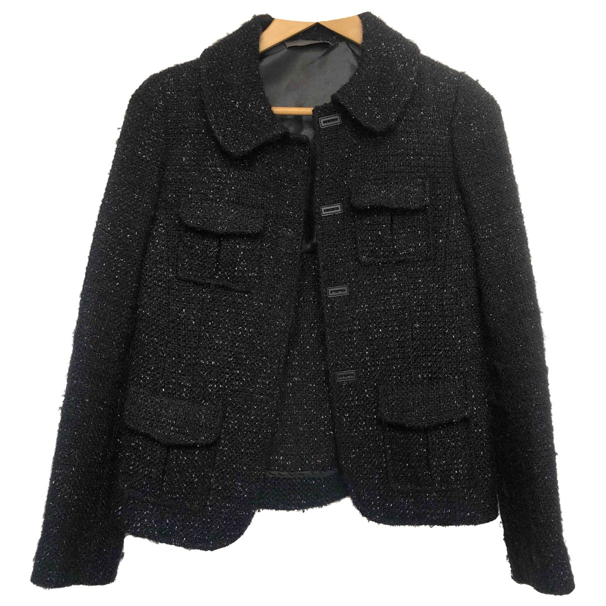 Alberta Ferretti N Black Wool jacket for Women 0 0-5