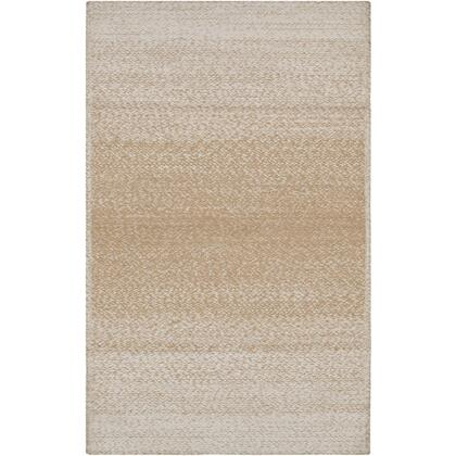 Aileen AIE-1003 8' x 10' Rectangle Cottage Rugs in Wheat