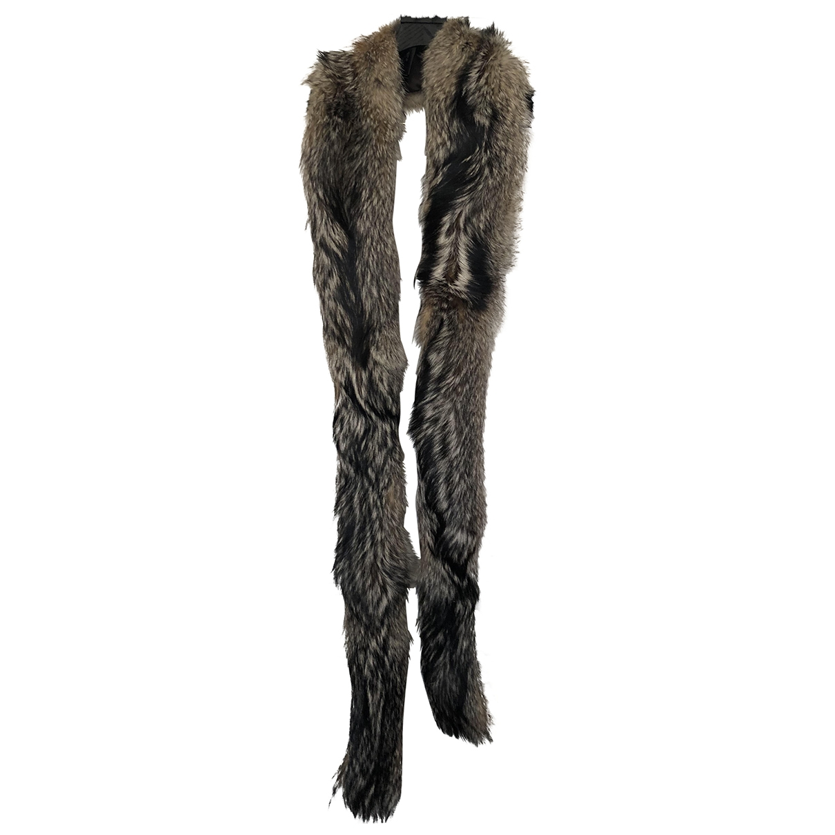 Prada \N Brown Fox scarf for Women \N