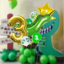 1set Number Shaped Balloon