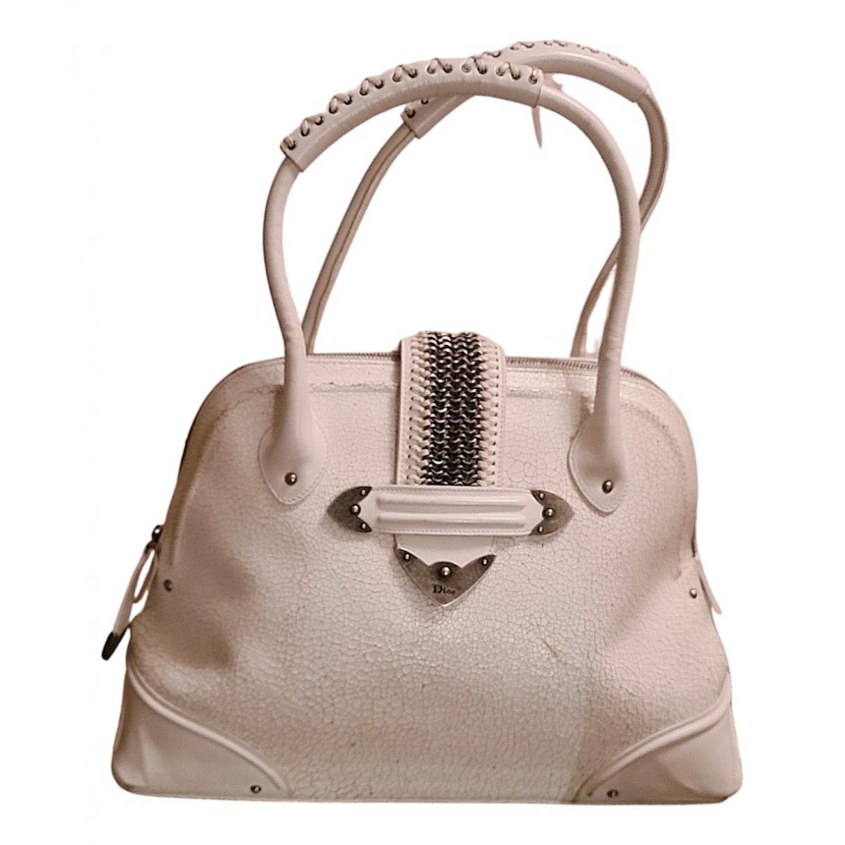 Dior N White Leather handbag for Women N