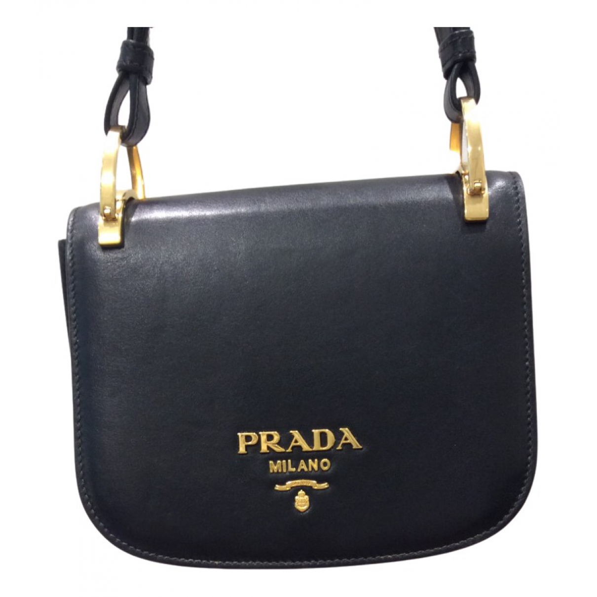 Prada Pionnière Black Leather handbag for Women \N