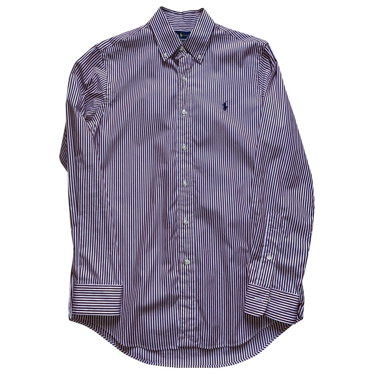 Ralph Lauren \N Red Cotton Shirts for Men S International