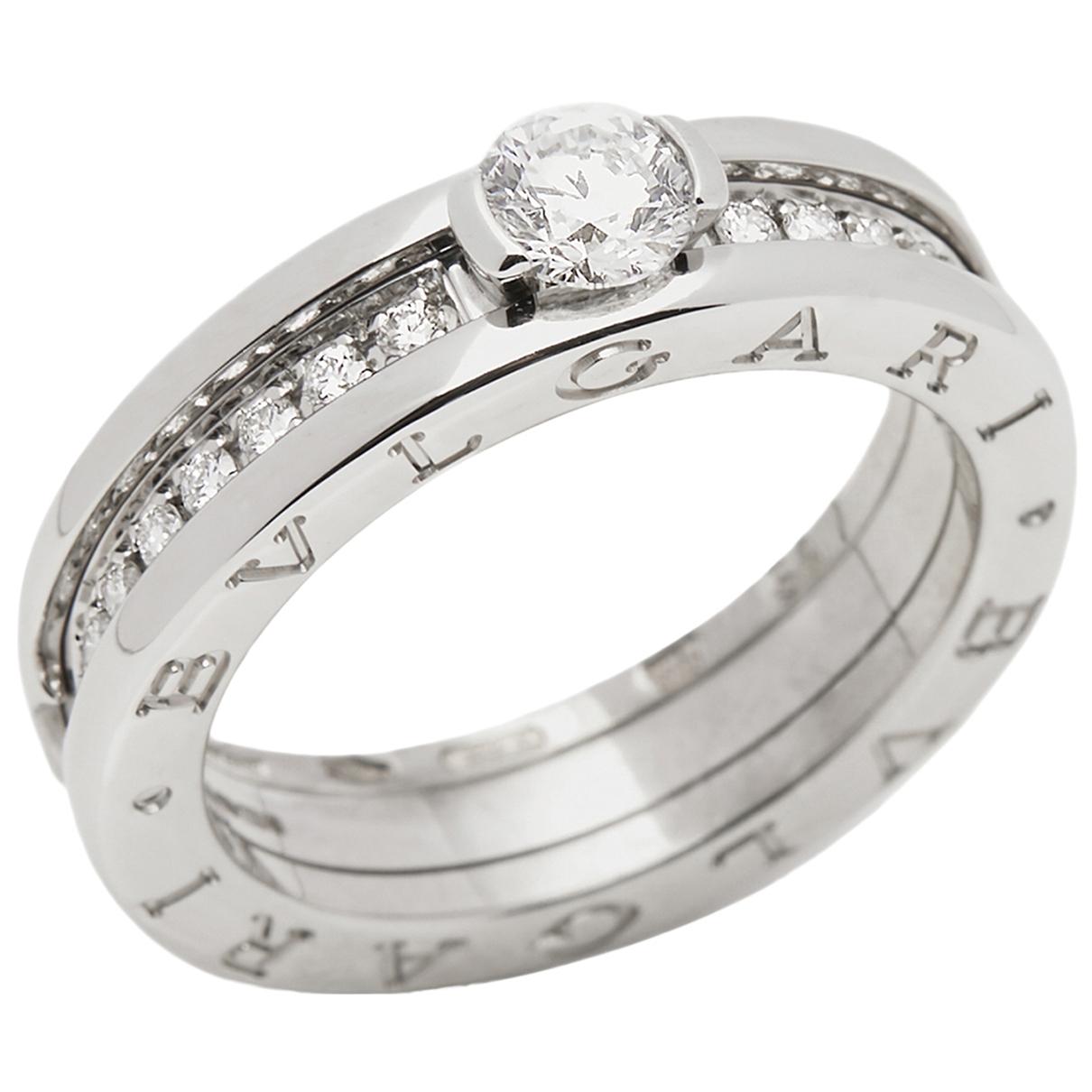Bvlgari B.Zero1 White White gold ring for Women \N