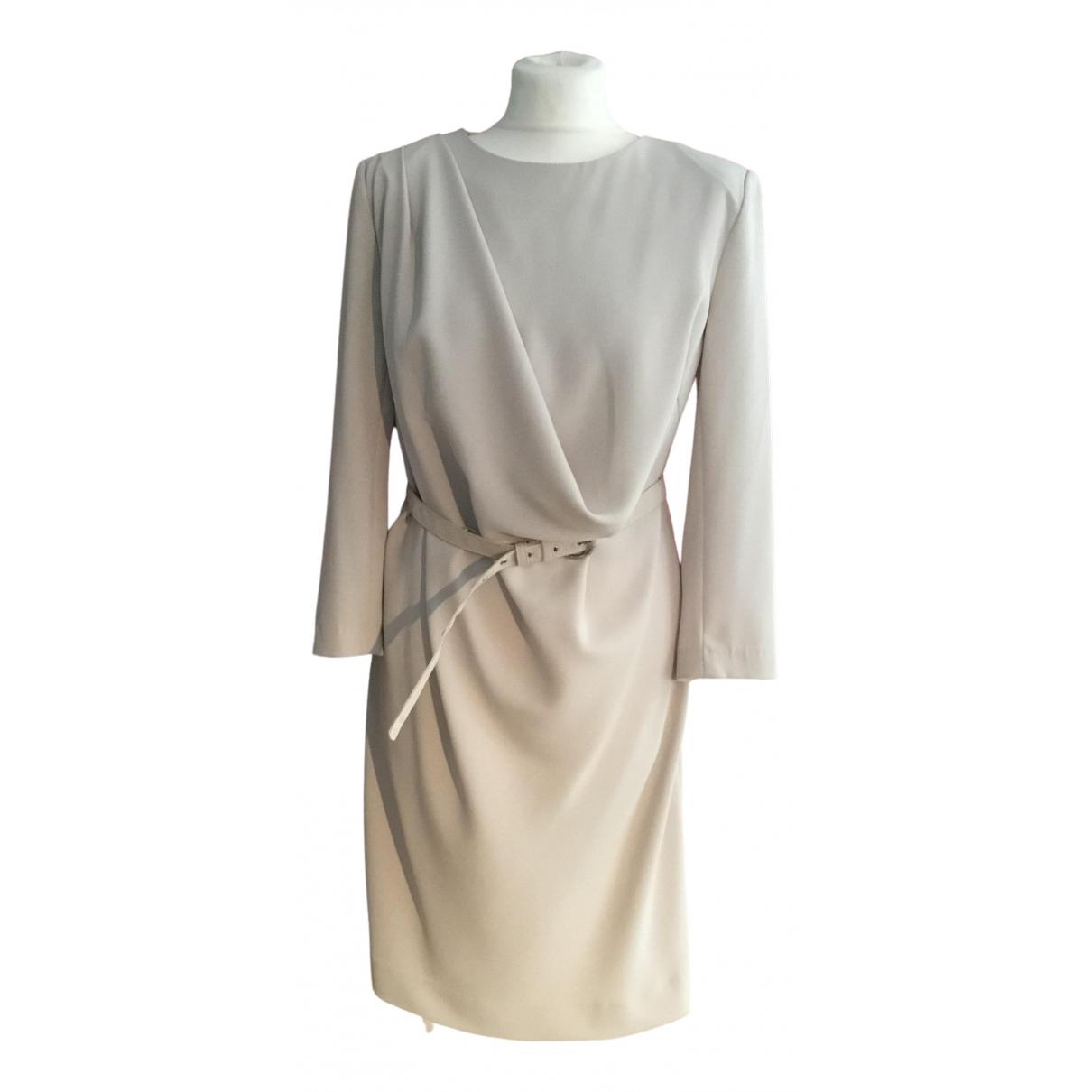 Patrizia Pepe \N Kleid in  Beige Polyester