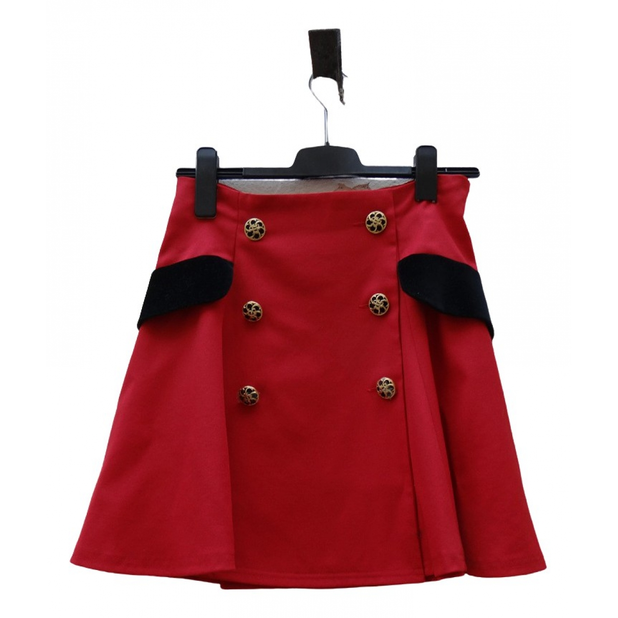 Moschino Cheap And Chic \N Rocke in  Rot Wolle