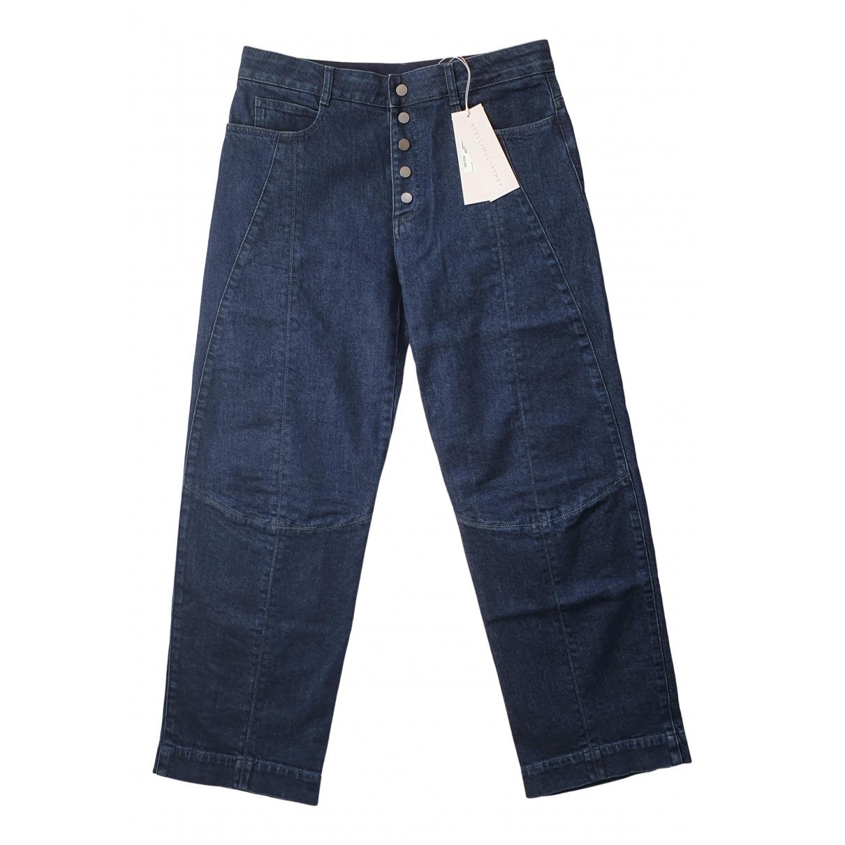 Stella Mccartney \N Blue Cotton - elasthane Jeans for Women 31 US