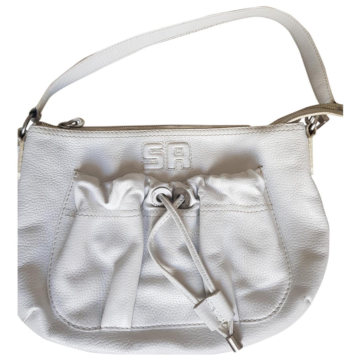 Sonia Rykiel \N Handtasche in  Weiss Leder