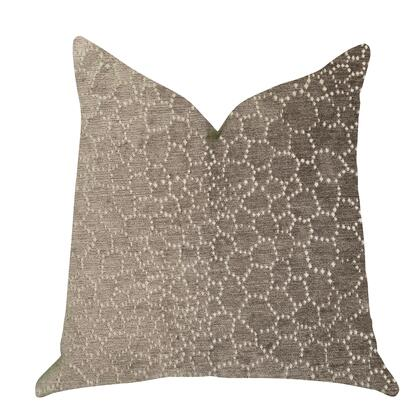 Truffle Collection PBRA1391-2020-DP Double sided  20 x 20 Plutus Bubbly Gal Luxury Throw Pillow in Beige
