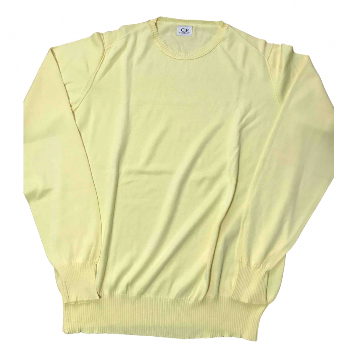 Cp Company \N Pullover.Westen.Sweatshirts  in  Gelb Baumwolle