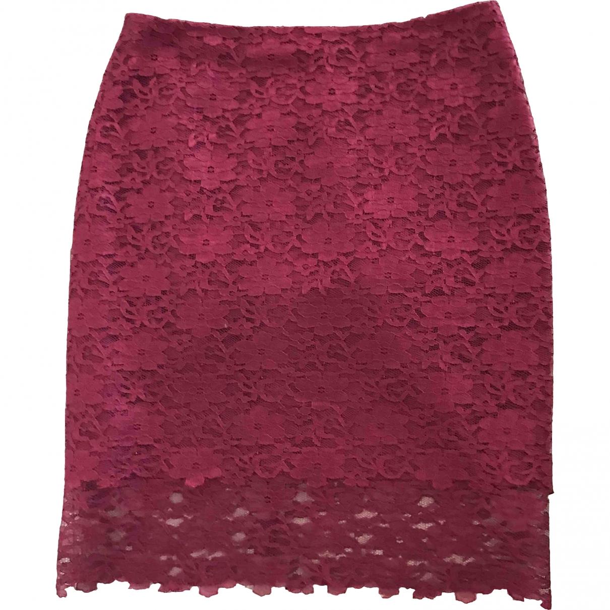 Reiss \N Burgundy skirt for Women 6 UK