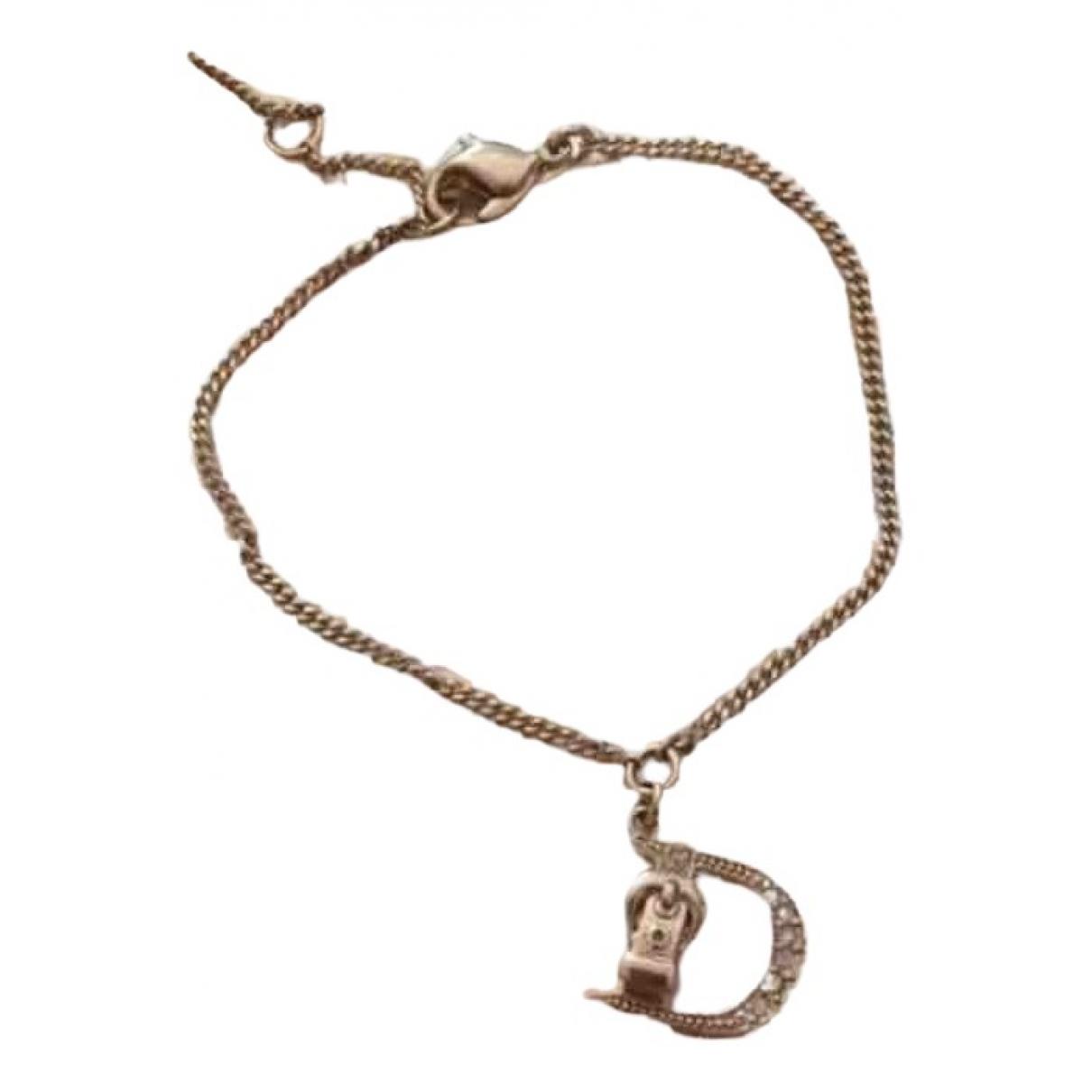 Dior - Bracelet   pour femme en metal - dore